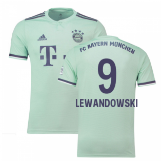 2018-19 Bayern Munich Away Shirt (Lewandowski 9)