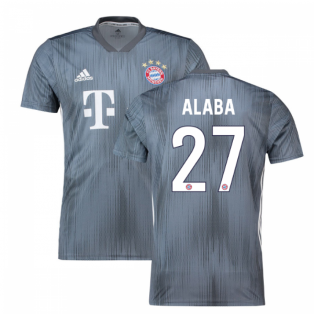 2018-19 Bayern Munich Third Shirt (Alaba 27) - Kids