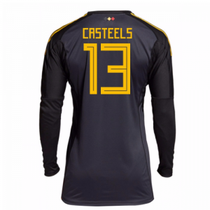 2018-2019 Belgium Home Adidas Goalkeeper Shirt
