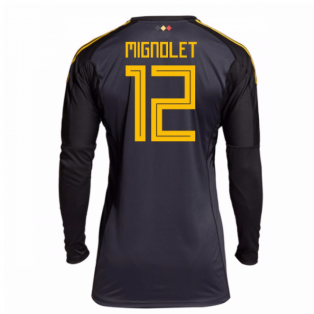 2018-19 belgium Home Goalkeeper Shirt (Mignolet 12)