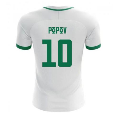 2018-19 Bulgaria Home Concept Shirt (Popov 10)