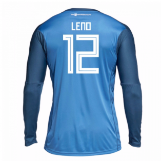 2018-19 Germany Home Goalkeeper Shirt (Leno 12) - Kids