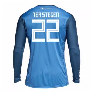 2018-19 Germany Home Goalkeeper Shirt (Ter Stegen 22)