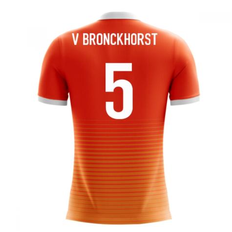 2018-19 Holland Airo Concept Home Shirt (V. Bronckhorst 5)