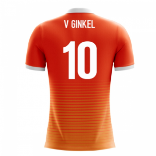 2018-19 Holland Airo Concept Home Shirt (V. Ginkel 10)