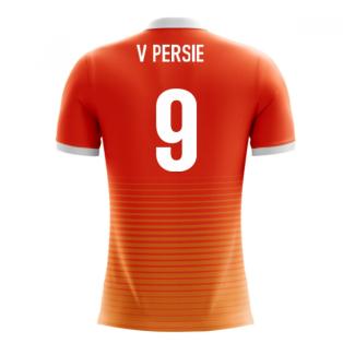 2018-19 Holland Airo Concept Home Shirt (V. Persie 9) - Kids