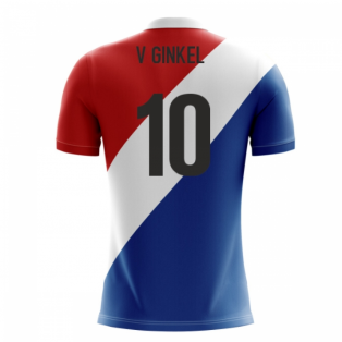 2018-19 Holland Airo Concept Third Shirt (V. Ginkel 10)