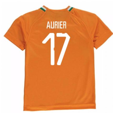 2018-19 Ivory Coast Home Shirt (Aurier 17) - Kids