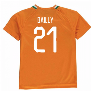 2018-19 Ivory Coast Home Shirt (Bailly 21)
