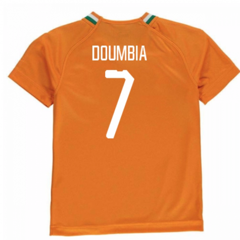 2018-19 Ivory Coast Home Shirt (Doumbia 7) - Kids