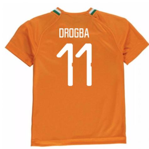 2018-19 Ivory Coast Home Shirt (Drogba 11)