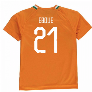 2018-19 Ivory Coast Home Shirt (Eboue 21) - Kids