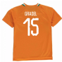 2018-19 Ivory Coast Home Shirt (Gradel 15)