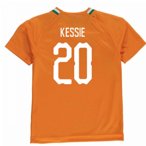 2018-19 Ivory Coast Home Shirt (Kessie 20)