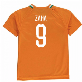2018-19 Ivory Coast Home Shirt (Zaha 9)