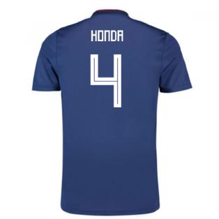 2018-19 Japan Home Shirt (Honda 4) - Kids