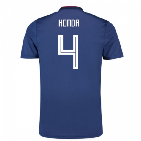 2018-19 Japan Home Shirt (Honda 4) - Kids