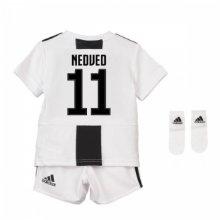 2018-19 Juventus Home Baby Kit (Nedved 11)