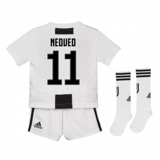 2018-19 Juventus Home Mini Kit (Nedved 11)