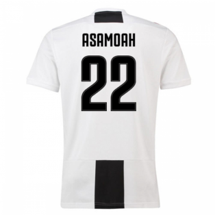 2018-19 Juventus Home Shirt (Asamoah 22) - Kids
