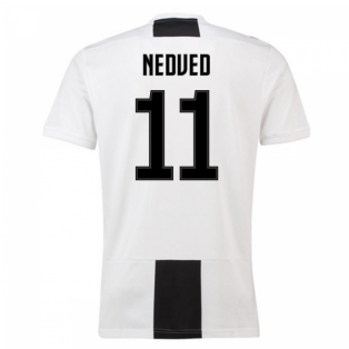 2018-19 Juventus Home Shirt (Nedved 11) - Kids