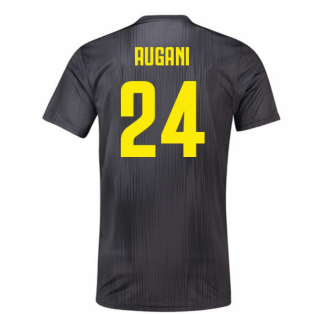 2018-19 Juventus Third Football Shirt (Rugani 24)