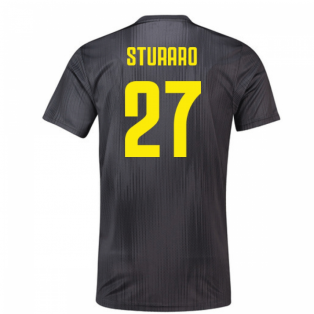 2018-19 Juventus Third Football Shirt (Sturaro 27)
