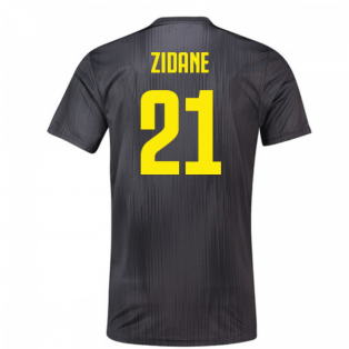 2018-19 Juventus Third Football Shirt (Zidane 21)