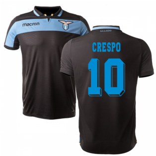 2018-19 Lazio Third Football Shirt (Crespo 10) - Kids