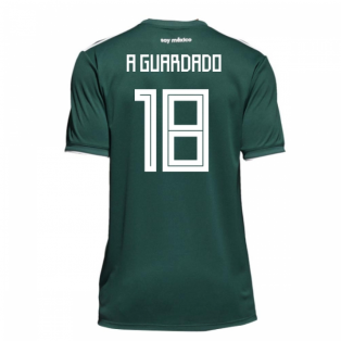 2018-19 Mexico Home Shirt (A Guardado 18)