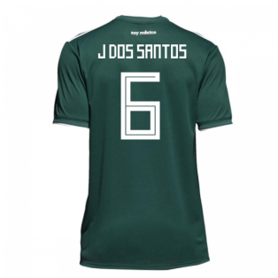 2018-19 Mexico Home Shirt (J Dos Santos 6)