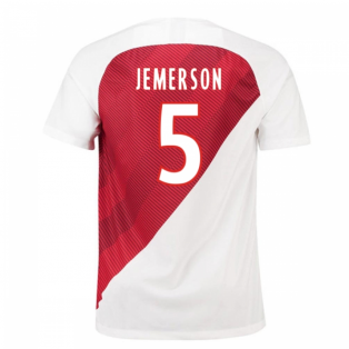 2018-19 Monaco Home Football Shirt (Jemerson 5) - Kids