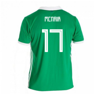 2018-19 Northern Ireland Home Football Shirt (McNair 17)