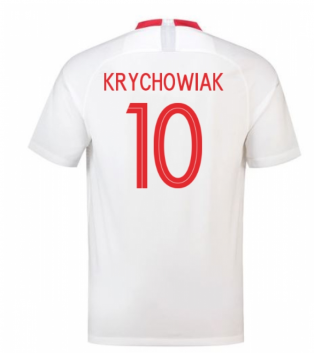 2018-19 Poland Home Shirt (Krychowiak 10) - Kids