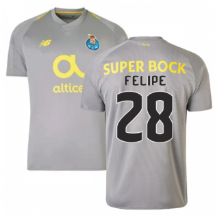 2018-19 Porto Away Football Shirt (Felipe 28) - Kids