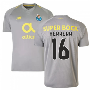 2018-19 Porto Away Football Shirt (Herrera 16) - Kids