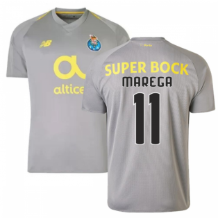 2018-19 Porto Away Football Shirt (Marega 11) - Kids