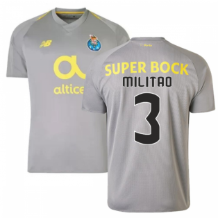 2018-19 Porto Away Football Shirt (Militao 3) - Kids