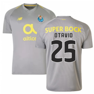 2018-19 Porto Away Football Shirt (Otavio 25) - Kids