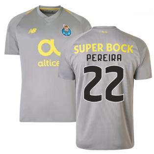 2018-19 Porto Away Football Shirt (Pereira 22) - Kids