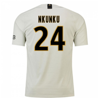2018-19 Psg Away Football Shirt (Nkunku 24) - Kids