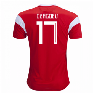 2018-19 Russia Home Shirt (Dzagoev 17)