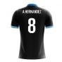2018-19 Uruguay Airo Concept Away Shirt (A Hernandez 8) - Kids