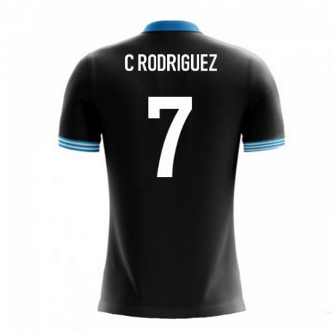 2020-2021 Uruguay Airo Concept Away Shirt (C Rodriguez 7)