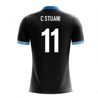 2020-2021 Uruguay Airo Concept Away Shirt (C Stuani 11)
