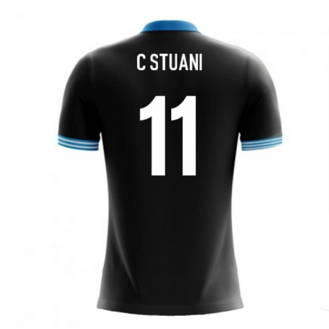 2018-19 Uruguay Airo Concept Away Shirt (C Stuani 11)