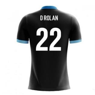 2018-19 Uruguay Airo Concept Away Shirt (D Rolan 22)
