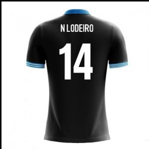 2018-19 Uruguay Airo Concept Away Shirt (N Lodeiro 14)