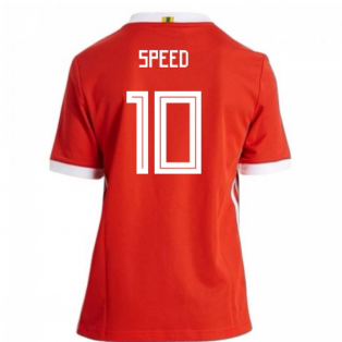 2018-19 Wales Home Shirt (Speed 10)