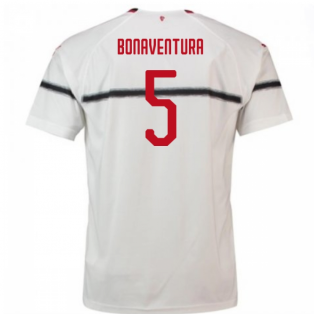 2018-2019 AC Milan Puma Away Football Shirt (Bonaventura 5) - Kids